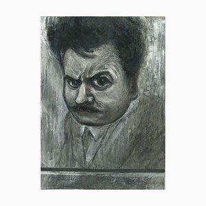 Gabriele Galantara, Porträt 1910, China Tinte und Tempera, 1910