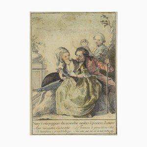 Carlo Lasinio, Tuscan Proverbs, Original Etching, 1786