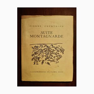 Suite Montagnarde, Seltenes Vintage Buch von Raoul Dufy, 1932