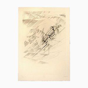 Gravure à l'Eau-Forte, Original, 20ème Siècle