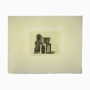 Impresión Still Life vintage Offset After Giorgio Morandi, 1973