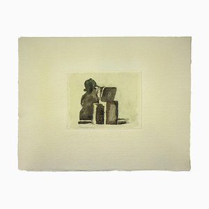 Still Life, Vintage Offset Print After Giorgio Morandi, 1973