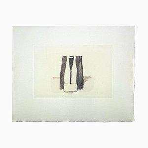 Impresión Still Life vintage Offset After Giorgio Morandi, 1974