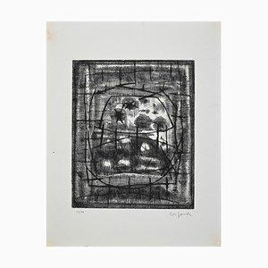 Corpo Antonio, Sans Titre, Gravure Originale, Moyen-20ème Siècle