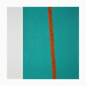 Eleni Zerva, Cosmo Verde, Il Giallo- Original Lithografie, 1971