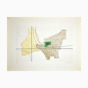 Luigi Veronesi, Structure 6, Original Lithograph, 1966