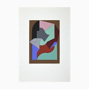 Augusto Garau, Untitled, Original Screen Print, Late 20th Century