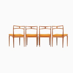 Chaises de Salon Modèle 94 par Johannes Andersen pour Christian Linneberg, Set de 4