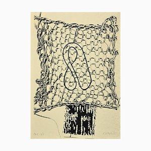 Clotilde Vitrotto, Untitled, Original Screen Print, 1985