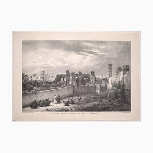 View of Rome, Vintage Offset Print After Godefroy Engelmann, Early 20th Century