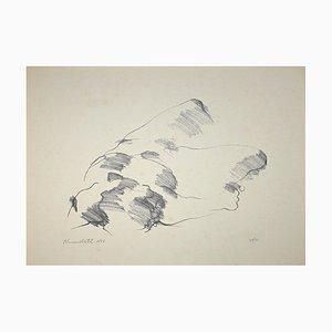 Mario Benedetti, Untitled, Original Lithograph, 1965
