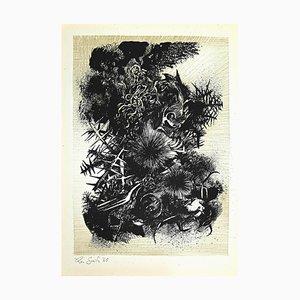 Leo Guida, Decadence 4, Original Etching, 1965