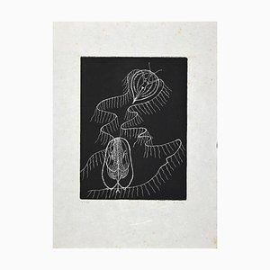 Bona De Pisis, Untitled, Original Etching, Late 20th Century