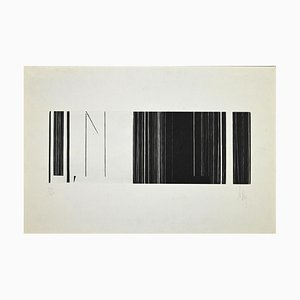 Luc Peire, Untitled, Original Lithograph, Late 20th Century