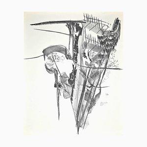 Franco Garelli, Untitled, Original Lithograph, 1960