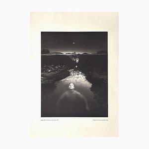 Douglas Prince - Selbstbildnis - Vintage Offsetdruck - 1980er