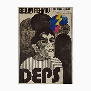 F.i. Bodnar - Deps Vintage Poster - Offset Print - 1974