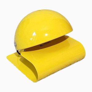 Gelbe Bugia Tischlampe von Giuseppe Cormio für Guzzini