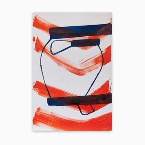 4.29 15, (Abstrakte Expressionistische Malerei), 2015
