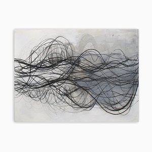 Sichtlinien, (Abstrakte Zeichnung), 2020