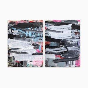 Covers 1 & 2, (Abstrakte Malerei), 2020