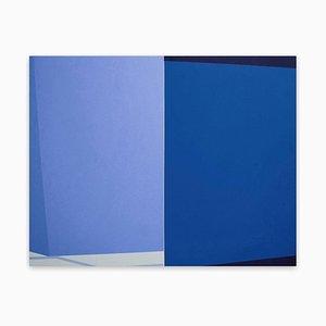 Intersect Blue, (Abstrakte Malerei), 2017