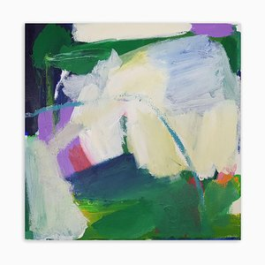 Green Hope, (Abstract Painting), 2020