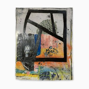 Couleur Trac # 26, (Peinture Abstraite), 2020