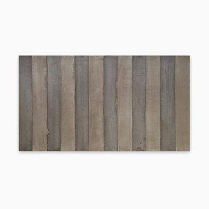 Doce líneas, (Pintura abstracta), 2015
