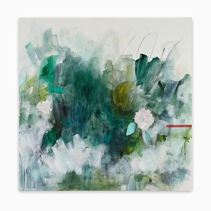 Glasshouse, (Abstract Painting), 2018