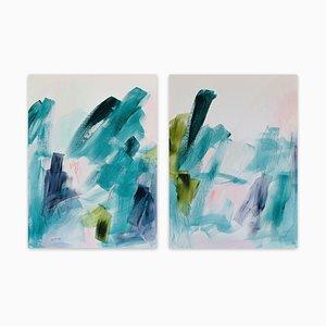 Field Notes No.1-2, (Pintura abstracta), 2018