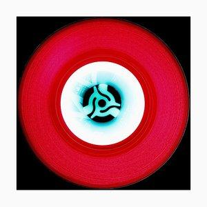 Vinyl Collection, A (Kirschrot) - Conceptual Pop Art, Color Photograph, 2014