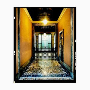 Foyer III, Milan, Architectural Color Photograph, 2019
