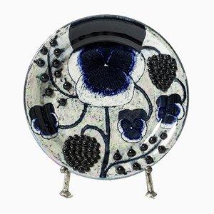 Stoneware Platter by Birger Kaipiainen