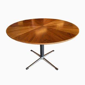 Mid-Century Modern Danish Round Dining Table, 1960s