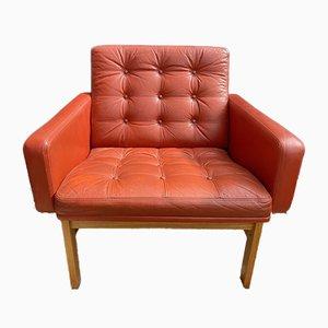 Mid-Century Danish Elbow Easy Chair by Ole Gjerløv-Knudsen & Torben Lind for France & Son