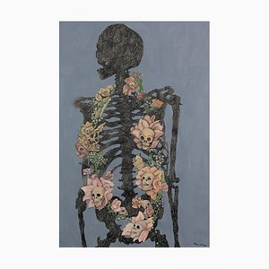Skeleton Rose by Charlie Pi