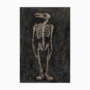 Oiseau Squelette par Charlie Pi