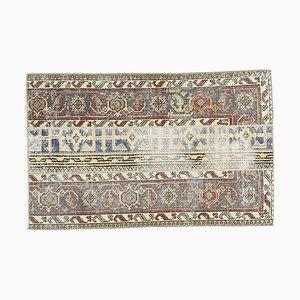 Geschwungener türkischer Vintage Oushak Teppich