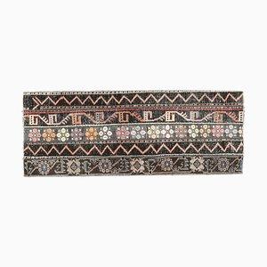 Tapis Oushak Narrow Runner Vintage, Turquie