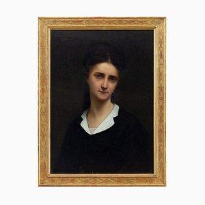 Paul Trouillebert, Portrait einer jungen Dame