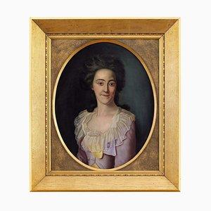École du Fin du 18ème Siècle, Portrait of a Lady, Danemark