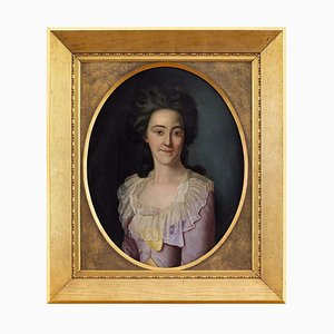 Late 18th-Century Danish School, Portrait of a Lady