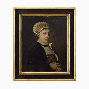 Eugen Klimsch, Retrato de una dama del siglo XVI