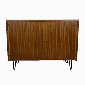 Schrank mit Türen & Haarnadel Beinen, 1960er
