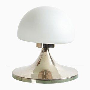 Tischlampe mit Chromgestell