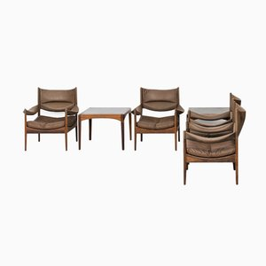 Modus Seating Group by Kristian Solmer Vedel for Søren Willadsen, Set of 6