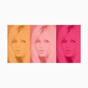 Tríptico Bardot rosa - 2020