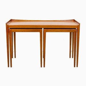 Tables Gigognes en Teck par Kurt Østervig pour Jason Møbler, Danemark, 1950s, Set de 3