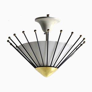 Lampade da soffitto di Angelo Lelli per Arredoluce, anni '50, set di 2